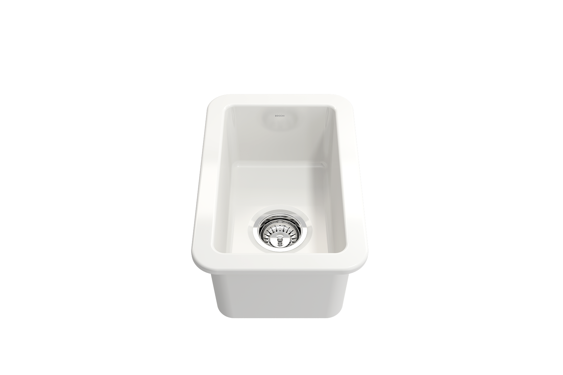 Sotto 12 Undermount Fireclay 12 Single Bowl Kitchen Sink White